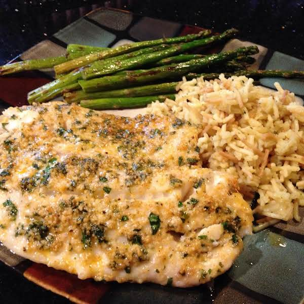 Parmesean N Ranch Crusted Tilapia Fillets Recipe