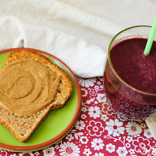 Power Greens and Beet Smoothie.