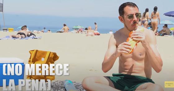 Las playas de Almería, en el último vídeo viral del dúo Pantomima Full