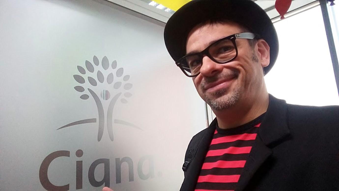Alfonso V evento de empresa infantil para Cigna 2015