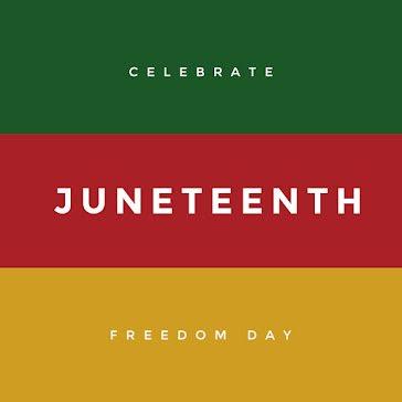 Celebrate Juneteenth - Instagram Post template