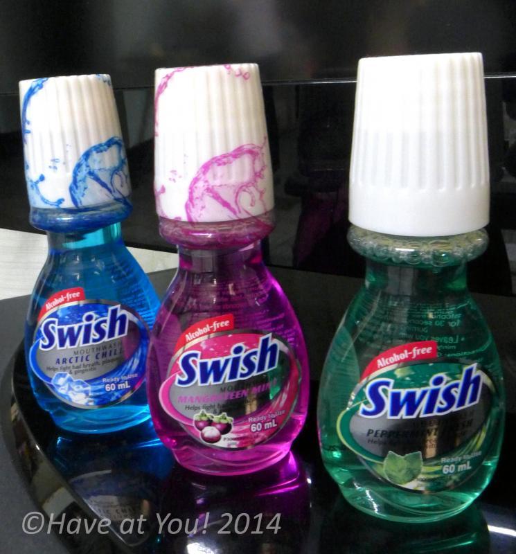 Swish mouthwash variants
