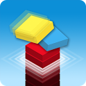 Tower Stack UP – 3D block down icon