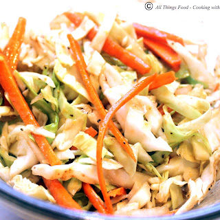 Cabbage Slaw Salad