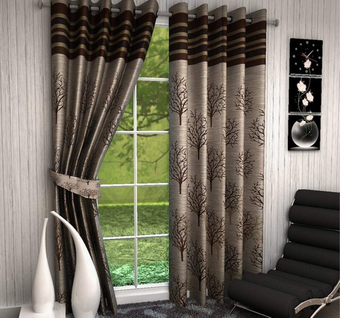 Selective Blackout Heavy Quality Window Curtains