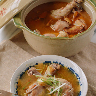 Taiwanese Sesame Oil Chicken Soup (台湾麻油鸡汤) Recipe