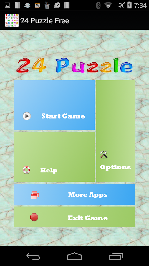 24 Puzzle Free- screenshot