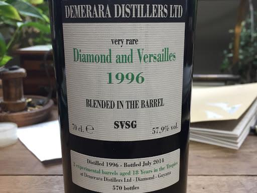 Diamond and Versailles 1996 velier