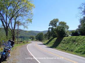 Photo: Looking South on 219 near Elkins