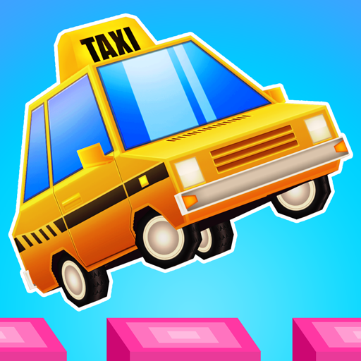 Stretchy Taxi - A challenging free game Icon