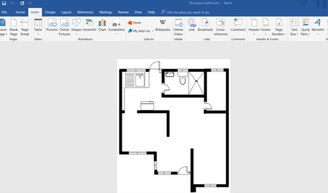 Cara Membuat Denah Rumah Mudah Dan Cepat Lengkap Dengan Cara Microsoft Word