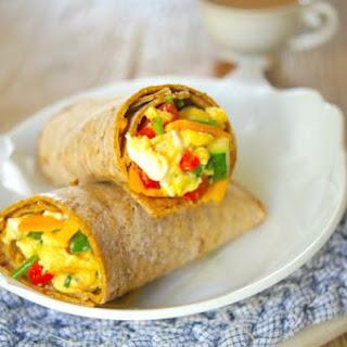 Freezer-Friendly Breakfast Wraps