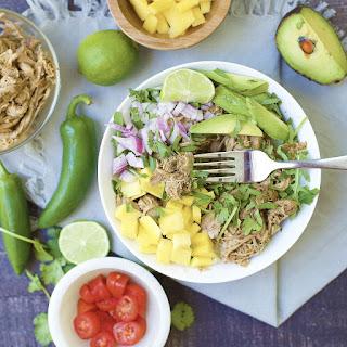 Slow Cooker Mango JalapeñO Pulled Pork Taco Bowls Recipe