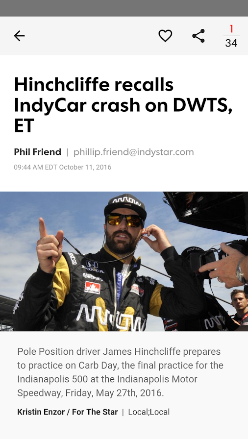 IndyStar Motor Sports XTRA- screenshot