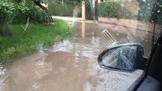 Imagen de las lluvias caídas esta semana en el Levante almeriense.