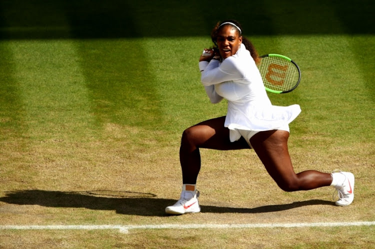 71bb21c3450 Serena survives scare to make 11th Wimbledon semi-final
