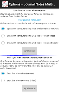 Journal Notes Multimedia screenshot 5