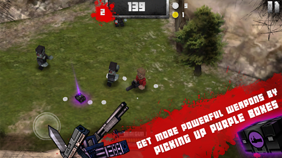 Boxhead: The Zombie Wars 3D - náhled