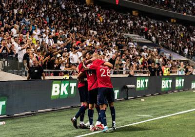 Lille remporte le premier Trophée des Champions de son histoire contre le PSG