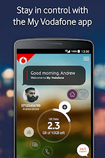 My Vodafone- screenshot thumbnail
