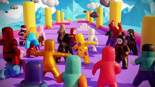 Maze guys: io games labyrinth. io. rush race 3d screenshot 1