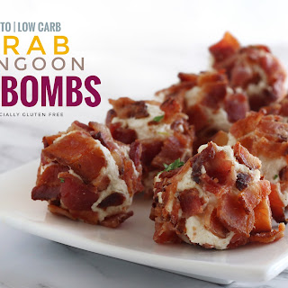 Crab Rangoon Fat Bombs.