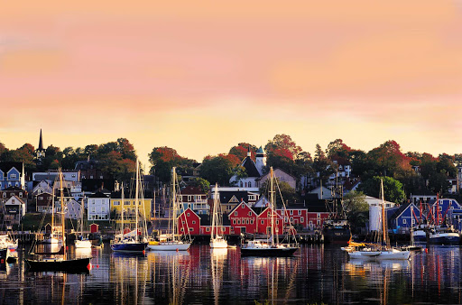The picture-perfect town of Lunenburg lies 57 miles southwest of Halifax. It's one of only two urban communities in North America designated as a UNESCO World Heritage site.