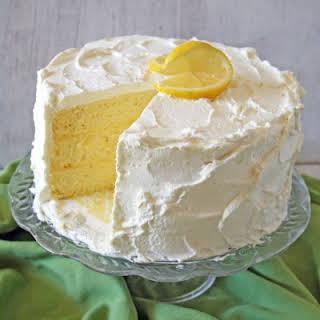 Lemon Chiffon Cake.