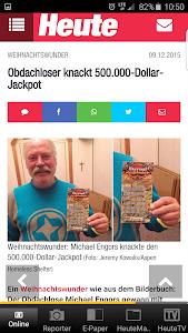 Heute - Die Tageszeitung screenshot 5