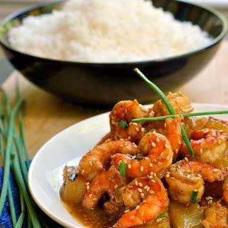 Asian Shrimp Saute