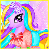 Unicorn Princess Hair Salon