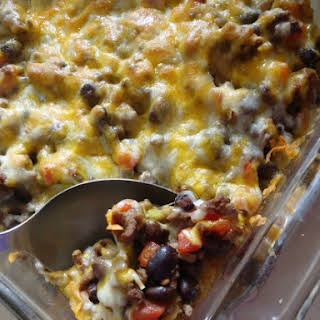 Taco Casserole With Tortilla Chips Recipes.