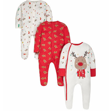 Mothercare 聖誕一件頭