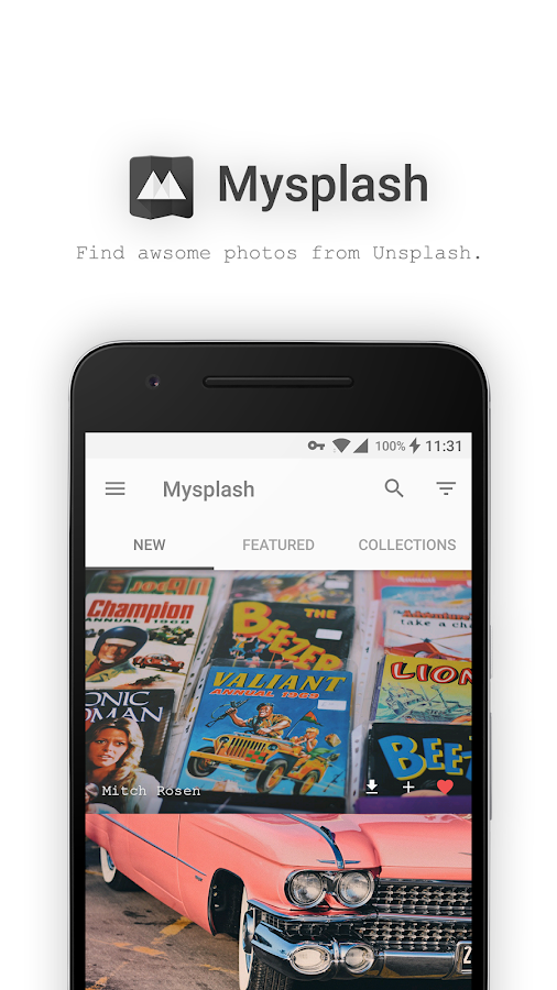 Mysplash-photography&wallpaper- screenshot