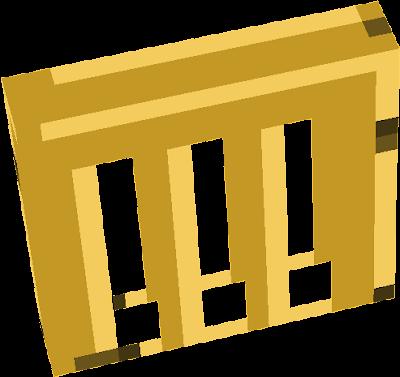 Golden acacia door top