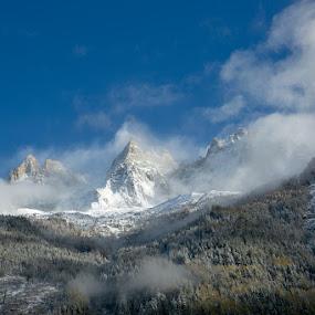 Mont Blanc  by VAM Photography - Landscapes Mountains & Hills ( mountains, snow, mont blanc, travel, landscape,  )