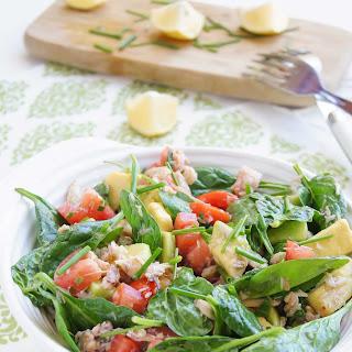 Spinach Tomato Avocado Salad Recipes