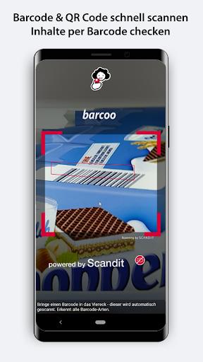 barcoo - QR Scanner   Inhalte per Barcode checken 26 screenshots 1