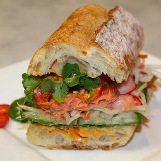 Roasted Salmon Bánh Mì