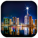Dubai City Live Wallpaper icon