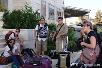Photo: Arrivée à l'hôtel à Ramallah