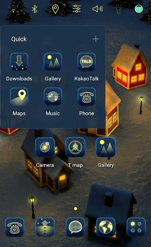 Winter night GIF icon theme APK | APKPure ai