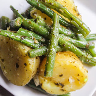 Potato and Green Bean Pesto Salad.