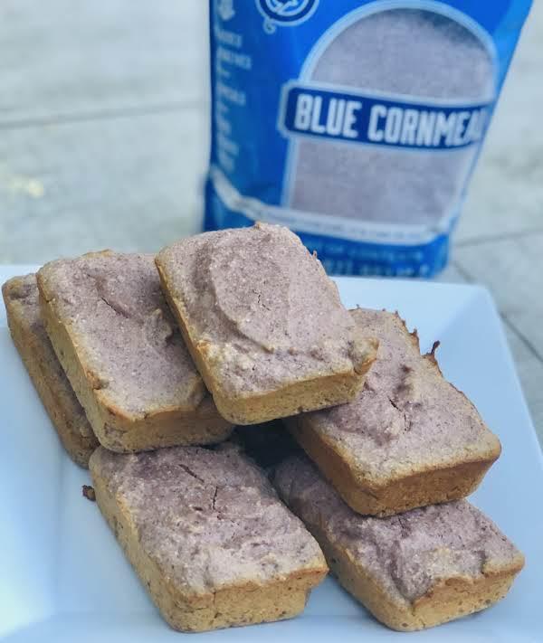Blue Cornbread Muffins - Fallout Vault