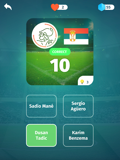 Football Quiz - Guess players, clubs, leagues screenshots 8