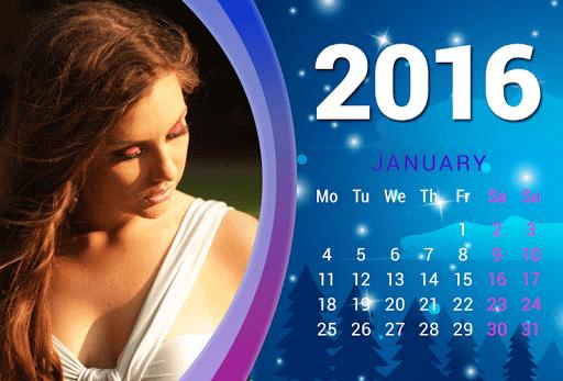 カレンダーフレーム2016