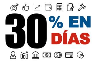 30 Porciento en 30 Días