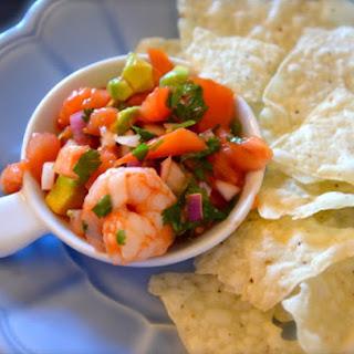 Saltgrass Steakhouse Boiled Shrimp and Avocado Salsa