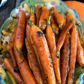 Tuscan-Style Roasted Carrots.