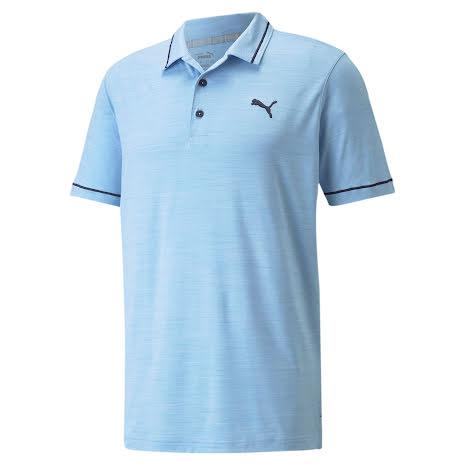 Puma Golf CloudSpun Monarch Polo Placid Blue